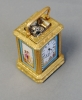 A good mid 19th century miniature carriage clock, Signed Drocourt