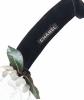 Chanel  Black Velvet & White Camellia Headband