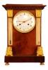 T07 Tafelklok met thermometer en barometer