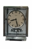 M82 Nickel plated art deco J. L. Reutter four-glass clock