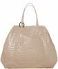 Christian Dior Vintage Croc Embossed Tote Bag XXL - Christian Dior