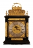 BR12 Double basket musical bracket clock