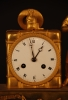 m46 Nice French empire mantle clock