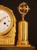 M40 French mantle clock 'La Liseuse'
