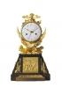 M76 Directoire - 1793-95 - gilt and patinated bronze mantle clock