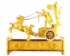 M01 French Ormolu Two Horse Chariot Clock, 'The Chariot of Telemachus'.