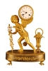 M20 Gilt bronze French mantle clock
