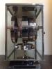 M211 Nikkelen art deco JL Reutter vier glazen Atmos klok
