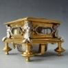 Horizontale tafelklok / Tischuhr, gesigneerd Ferdinand Engelschalk, Prague./Praag circa 1700.