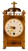C04 French capucine travel alarm clock