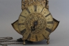A late untouched 17th century striking English 'wing lantern clock', by John Wise.
