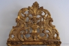 A beautiful French wood carved and original guild Regency wall mirror, 1740