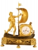 M16 Rare Directoire genre matelot mantel clock