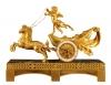 M22 Gilt pendulum clock with putti and horses
