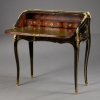 French Louis XV Lacquered Bureau, attributed to J.P. Latz