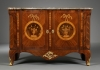 A Dutch Transitional Commode