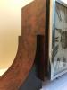 M228 Zeldzame houten Reutter Atmos klok