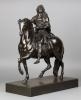 Ruiterstandbeeld van Louis XIV naar Martin van den Bogaert genaamd Desjardins