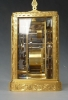 A fine  French carriage clock made and signed Paul Garnier, fire gilt case, no 1748, Paris circa 1840