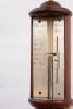 A French mahogany ship's barometer, Charlet au Havre, circa 1820