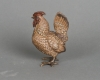 An unusual and very detailed Vienna bronze of a rooster, circa 1890