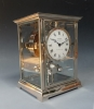 A fine Atmos clock, nickel case, by Jean-Léon Reutter, No 3615, France ca. 1930.