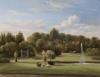 Pair of Dutch park landscapes