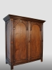 Small Dutch cupboard, 17th century.