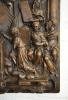 German sculpture: The adoration of Maria.