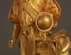 A lovely pair of Charles X gilt bronzes, circa 1835