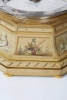 """CA"", France, Movement, Rare French Table Clock with Arcane Time Display"