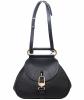 Delvaux Black Cerceau Jumping Bag