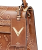Valentino Santeria Embossed My Rockstud Top Handle Bag - Valentino