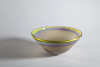 Misha Ignis, Wide bowl with pastel colours, Noordwijk, 1989 - Misha Ignis