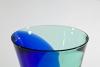 Floris Meydam, Glass Factory Leerdam, Unique two colored vase, 1985 - Floris Meydam
