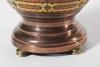 Jan Eisenloeffel, Bronze vase with enamel medaillons, 1915 - Jan Eisenloeffel