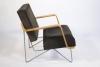 Cees Braakman voor Pastoe, Zeldzame variant met multiplex armleuningen van de fauteuil Combex-FM03, ontwerp ca. 1954 - Cees Braakman
