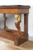 A French Empire mahogany ormolu marble console by Jacob Desmalter