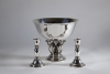 Johan Rohde for Georg Jensen, Large Silver Centerpiece 'Model 196', designed 1916, executed between 1916-1919 - Johan Rohde