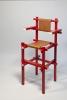 Gerrit Rietveld, Rare Children's High Chair, Executed by Gerard van de Groenekan, ca. 1971 - Gerrit Thomas Rietveld