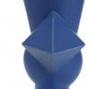 Jan van der Vaart, Blue stoneware vase, multiple, late 1990s - Jan van der Vaart
