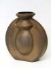 Jan van der Vaart, Brons geglazuurde steengoed vaas, multipel, 2000 - Jan van der Vaart