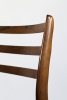 Niels Otto Møller, Vier palissander stoelen, uitgevoerd door J.L. Møllers Møbelfabrik, Denemarken, jaren '60 - Niels Otto Møller