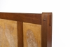 Theo van Hoytema, Everwijn Verschuyl, Bank met decoratie van kaketoes, mahonie en esdoornhout, uitvoering fabriek A.T. van Wijngaarden & Co., ca. 1900 - Theo van Hoytema