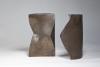 Jan van der Vaart, Tweedelige brons geglazuurde vaas, uitgevoerd in eigen studio, 1970 - Jan van der Vaart