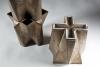 Jan van der Vaart, Brons geglazuurde tulpentoren, multipel, 1990 - Jan van der Vaart