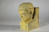W.C. Brouwer, Sculpture 'Het Denken' ('thinking'), Yellow glazed earthenware, ca. 1928 - Willem Coenraad Brouwer