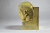 W.C. Brouwer, Sculpture 'Het Denken' ('thinking'), Yellow glazed earthenware, ca. 1928 - Willem Coenraad Brouwer