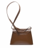 Yves Saint Laurent Brown Leather Shoulder Bag - Yves Saint Laurent