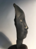 Jules Vermeire, Hard stone female head on mahogany pedestal, ca. 1920 - Jules (J.S.) Vermeire